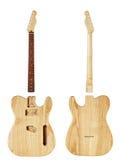 Mellanrumen för byggande gitarrer Royaltyfria Foton