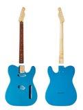 Mellanrumen för byggande gitarrer royaltyfri foto