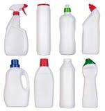 Mellanrumsflaskor av lokalvårdtillförsel Royaltyfria Foton