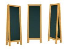 mellanrumsframförande för blackboard 3d Fotografering för Bildbyråer