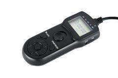 Mellanrumslutarefjärrkontroll för digital kamera Arkivfoto