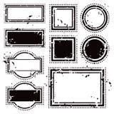 Mellanrumsstämplar arkivbilder