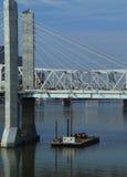 Mellanstatlig bro 65 Arkivbild