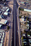 Mellanstatlig huvudväg 40 Albuquerque, NM Fotografering för Bildbyråer