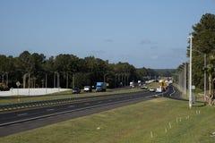 Mellanstatlig huvudväg Florida USA Arkivbilder