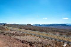 Mellanstatliga 93 i Arizona Royaltyfri Bild