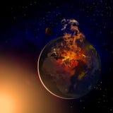 Mellersta östlig jord vektor illustrationer