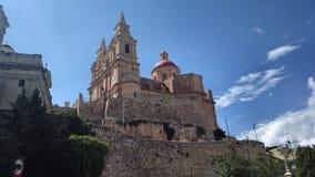 mellieha εκκλησιών στοκ εικόνες