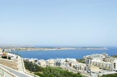 Mellieha Bay. A view of Mellieha Bay, Malta Royalty Free Stock Photos