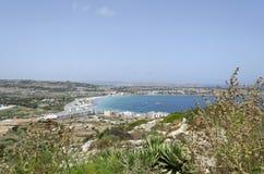 Mellieha Bay Royalty Free Stock Image