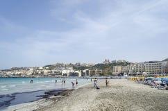 Mellieha beach Stock Image
