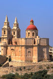 Malta, Mellieha church Stock Photo