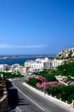 Melliehabaai - Malta Royalty-vrije Stock Afbeelding