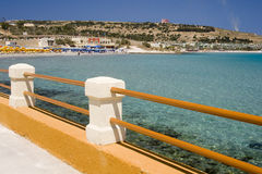 Melliera Bay - Malta royalty free stock images