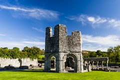 Mellifont修道院,德罗赫达,劳斯郡, Irland 免版税库存图片