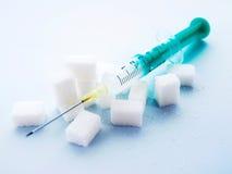 Mellitus sockersjuka Arkivbild