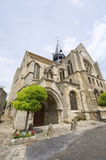 Mello (Picardie) - Church Stock Photos