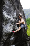 Melloblocco - Internationale bouldering vergadering Royalty-vrije Stock Foto's
