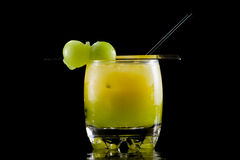 Mellon ball cocktail Royalty Free Stock Images
