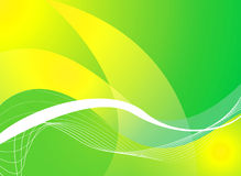 Mellow green background Stock Image