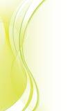Mellow green flow Stock Image