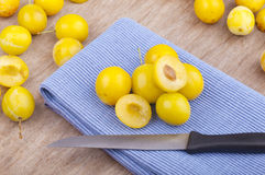 Mellow mirabelles, Royalty Free Stock Photo