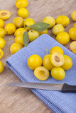 Mellow mirabelles, Stock Photo