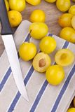 Mellow mirabelles Stock Photos