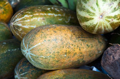 Mellow Muskmelon Stock Image