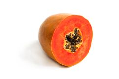 Mellow Papaya Royalty Free Stock Images