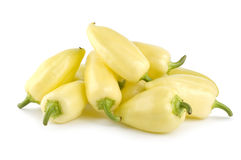 Mellow Yellow Pepper Stock Photo