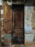 Mellowed Decaying Door royalty free stock photo
