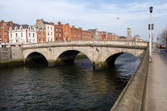 Mellows Bridge in Dublin Stock Image