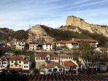 Melnik,保加利亚 库存照片