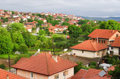 Melnik in Bulgaria Stock Photo