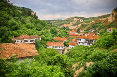Melnik in Bulgarien Lizenzfreies Stockfoto