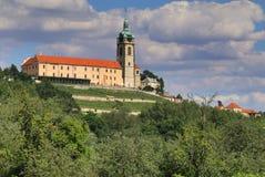 Melnik palace in Czech republic Royalty Free Stock Image