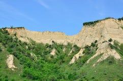 Melnik Sand Pyramids are the most fascinating natural phenomena Royalty Free Stock Photo