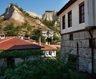 Melnik, smallest town in Bulgaria Stock Images