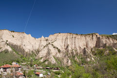 Melnik village peaks Royalty Free Stock Photography