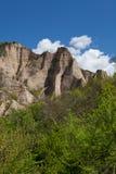 Melnik village peaks Royalty Free Stock Photo