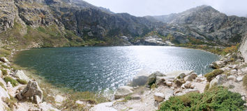 Melo湖 库存照片