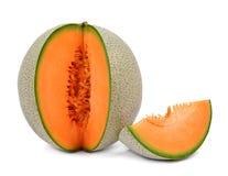 Melão do Cantaloupe Fotos de Stock Royalty Free