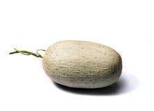 Melo. Isolate Cantaloup melon white background Stock Photography
