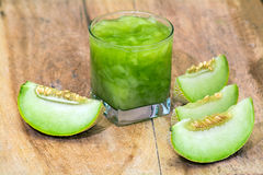 Melão verde Fotografia de Stock