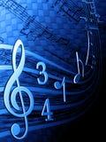 Melodía Imagen de archivo