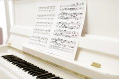 Melodía blanca clásica Fotos de archivo