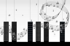 Melodía de la ciudad. Fotografía de archivo libre de regalías