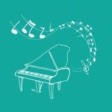 Melodía del piano libre illustration