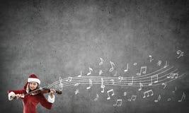 Melodi av att komma för jul Arkivfoto